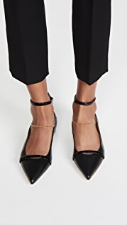 Malone Souliers Rachel Anklet Flats