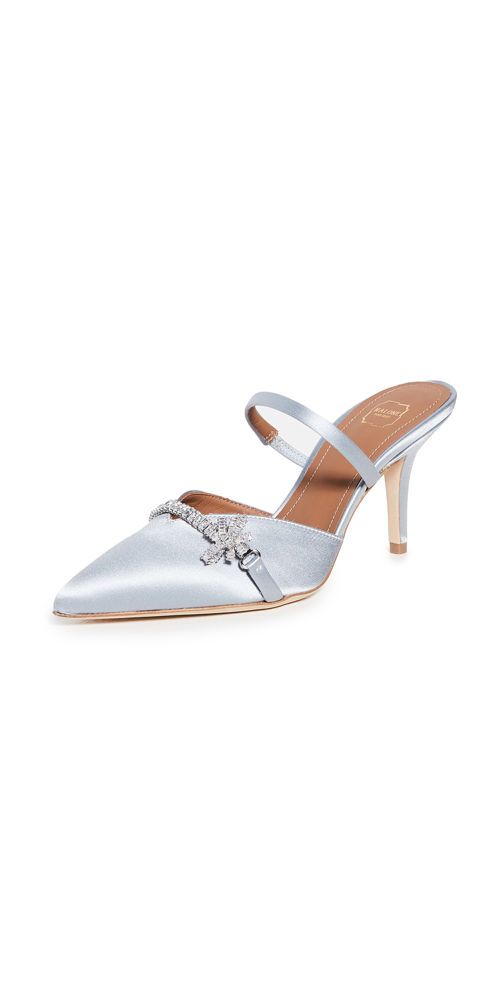 Malone Souliers 70mm Lila Pumps