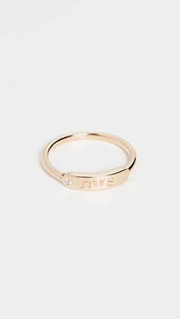 My Story The Twiggy 14k Ring - Mrs