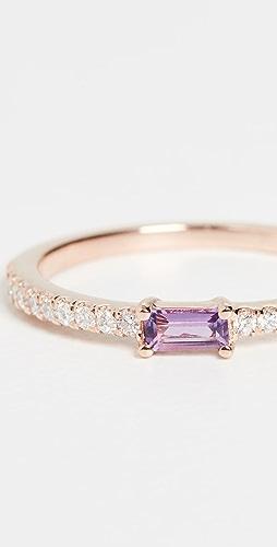 My Story - 14k The Julia Birthstone Ring - February