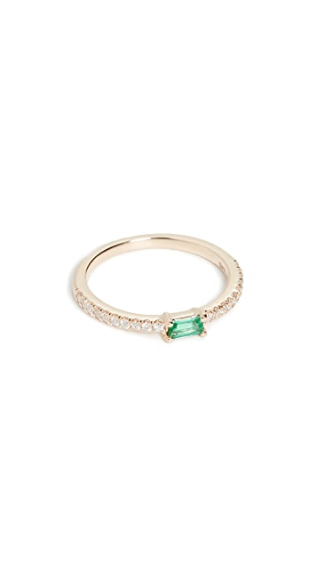 My Story The Julia Birthstone 14k Ring - May