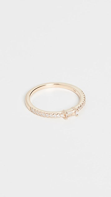 My Story 14k The Julia Birthstone Ring - June