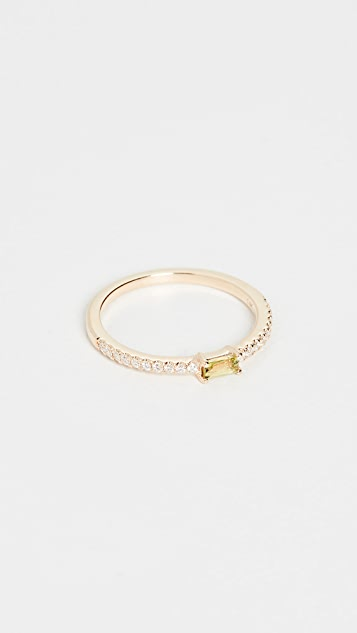 My Story 14k The Julia Birthstone Ring - August