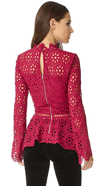 Ministry of Style Desire Lace Top