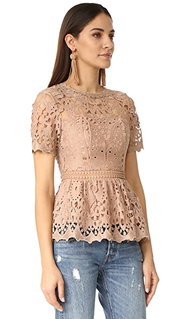 Ministry of Style Lush Lace Top