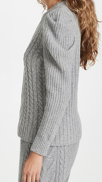 Madeleine Thompson Wengen Sweater