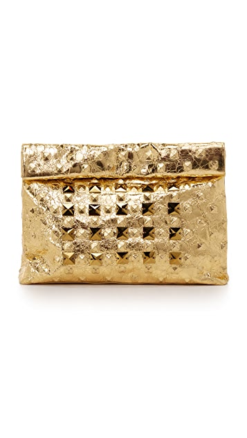 Marie Turnor Accessories Crystal Stud Lunch Clutch