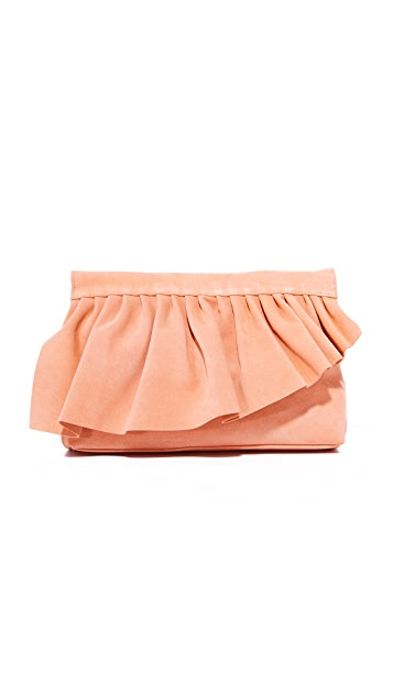 Marie Turnor Accessories The Ruffle Clutch