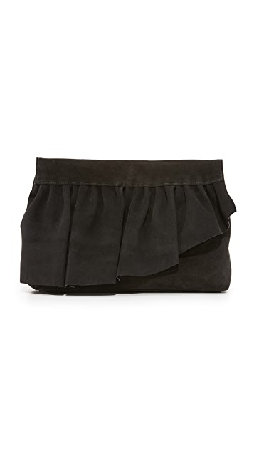 Marie Turnor Accessories Ruffle Clutch