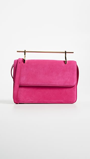 M2MALLETIER La Fleur Du Mal Leather Cross Body Bag