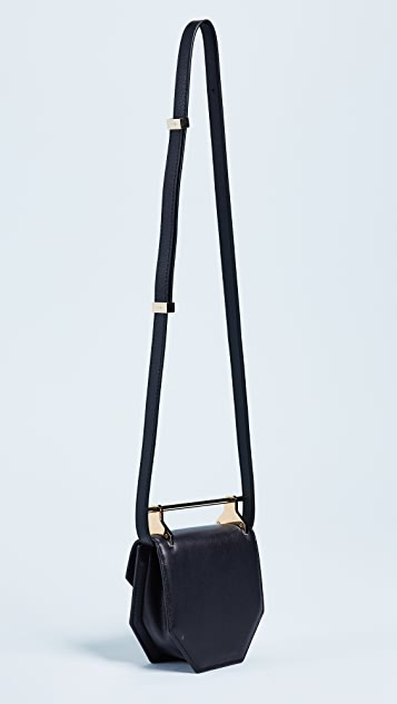 M2MALLETIER Mini Amor Fati Cross Body Bag