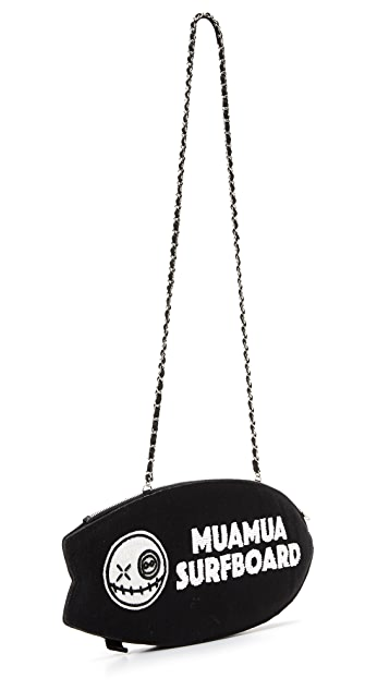 Mua Mua Double C Surfboard Clutch