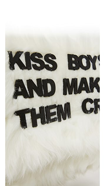 Mua Mua Kiss Boys and Make Them Cry Pouch