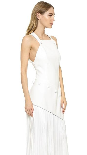 Mugler Sleeveless Gown