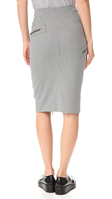 Mugler Pencil Skirt
