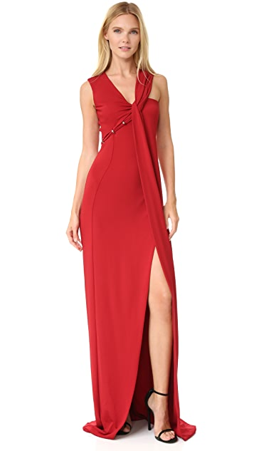 Mugler Sleeveless Gown