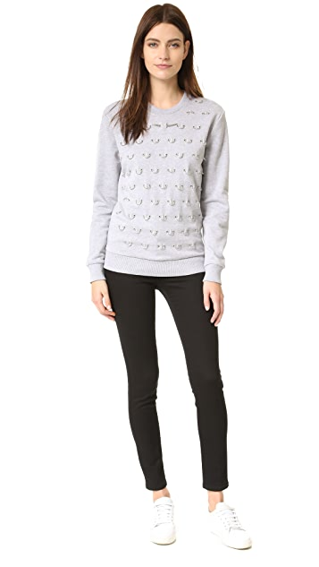 Mugler Sweatshirt with Hardware