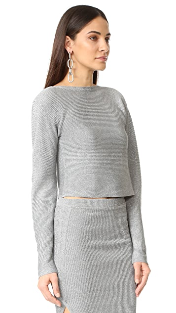 Mugler Long Sleeve Top