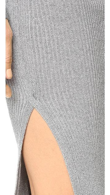 Mugler Long Skirt
