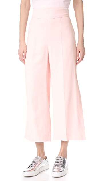 Mugler Wide Leg Pants