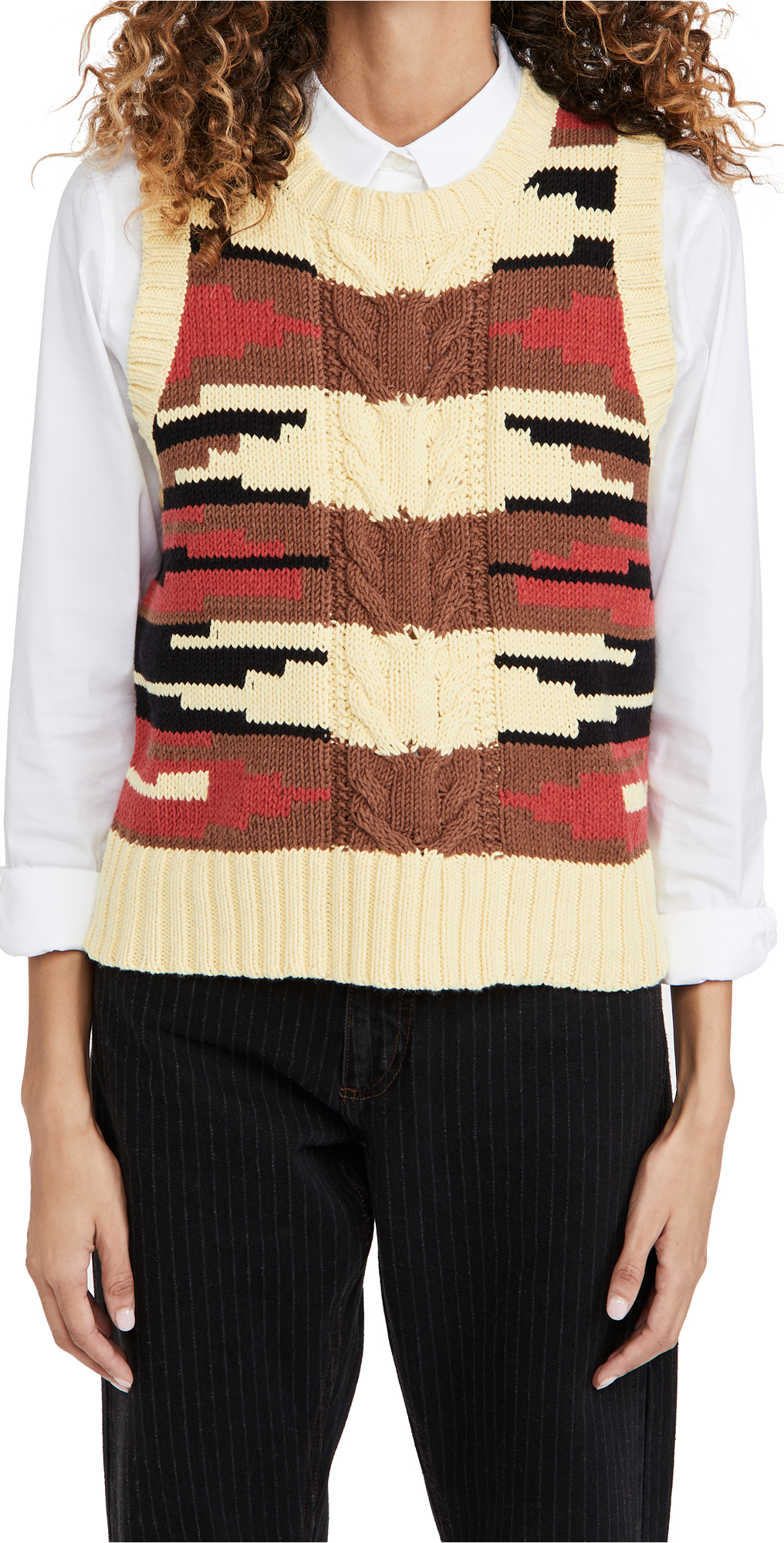 MUNTHE Saddle Sweater Vest