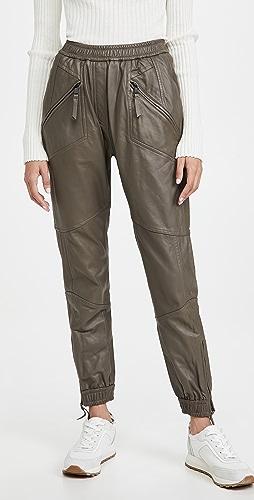 MUNTHE - Solona Leather Pants