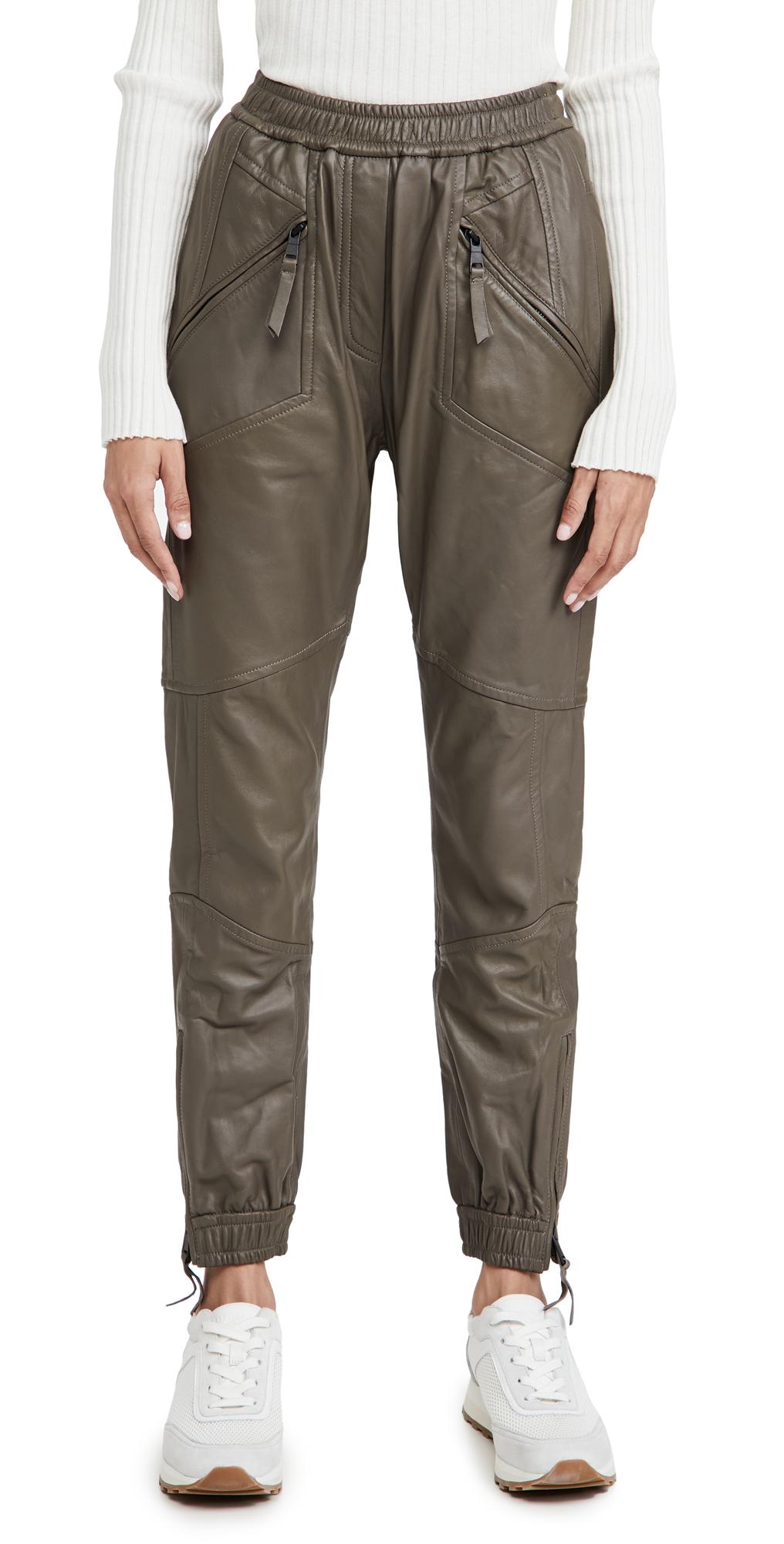MUNTHE Solona Leather Pants