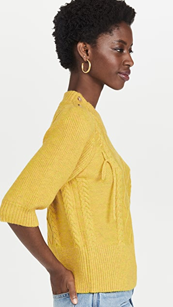MUNTHE Raspberry Sweater