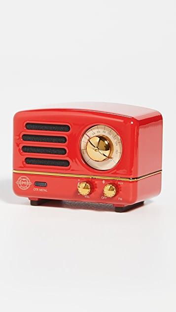 Muzen Audio OTR 金属蓝牙扬声器和收音机