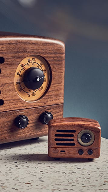 Muzen Audio OTR Wood Bluetooth Speaker & Radio