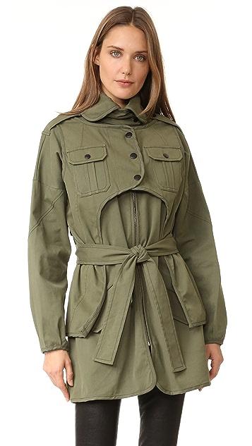 Marissa Webb Nicholas Canvas Coat