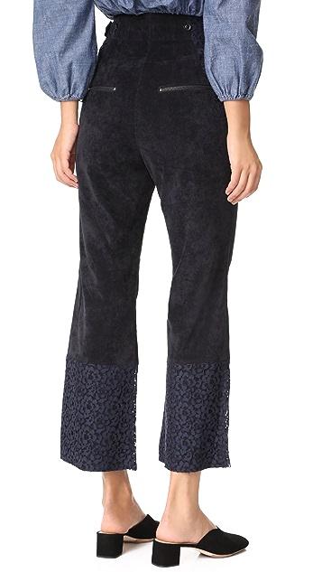 Marissa Webb Victoria Cropped Pants