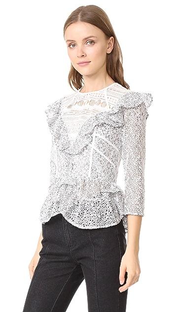 Marissa Webb Кружевная блуза Gabrielle