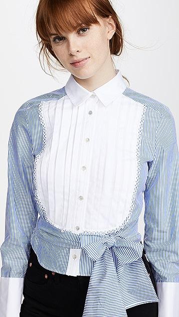 Marissa Webb Holgate Stripe Shirt