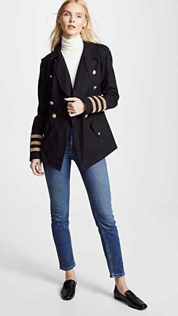 Marissa Webb Julian Washed Twill Jacket