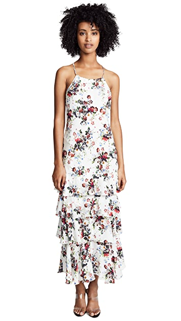 Marissa Webb Everleigh Print Dress