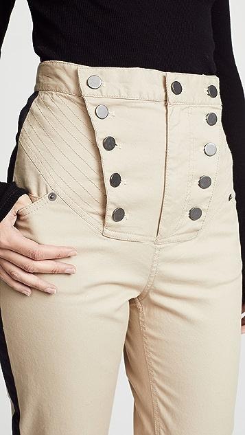 Marissa Webb Deacon 帆布长裤