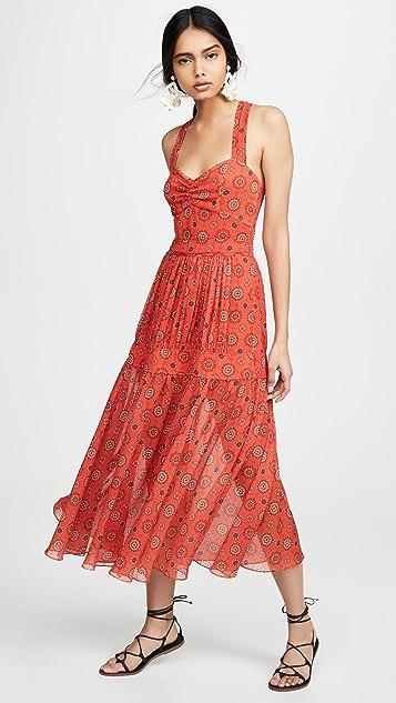 Marissa Webb Платье с принтом Seraphina
