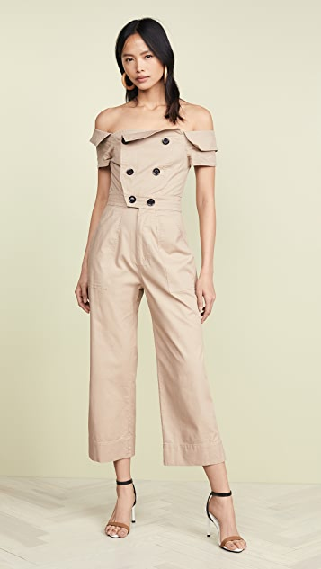 Marissa Webb Rylan Canvas Jumpsuit
