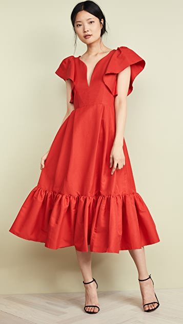 Marissa Webb Issa Faille Dress