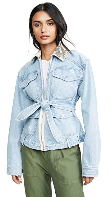 Marissa Webb Coleman Denim Field Jacket
