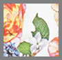 винтажный английский букет цвета слоновой кости