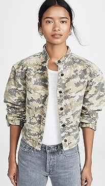 Flynn Heavy Canvas Camo Jacket