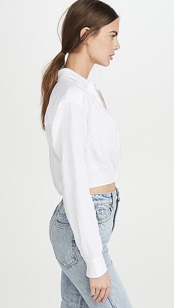 Marissa Webb Maxwell 亚麻衬衫