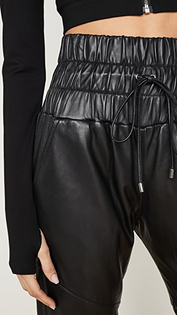 Marissa Webb Dalton Leather Joggers