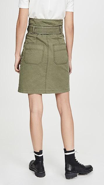 Marissa Webb Brooke Heavy Canvas Long Skirt