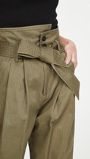 Marissa Webb Piper 锥形裤腿长裤