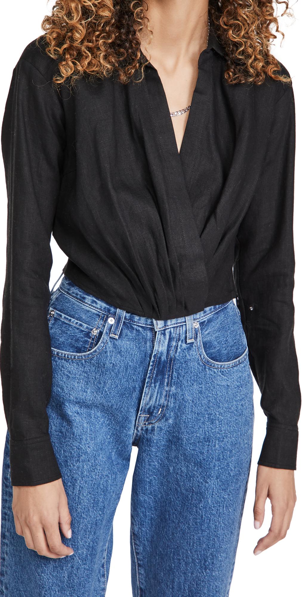 Marissa Webb Maxwell Linen Shirt