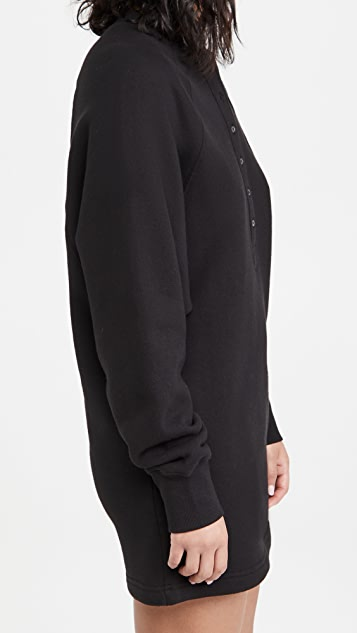 Marissa Webb So Uptight 法式毛圈布卫衣连衣裙