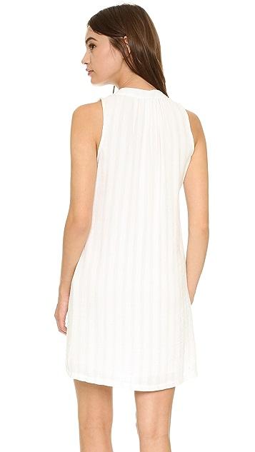 Maven West Sarna Lace Up Shift Dress